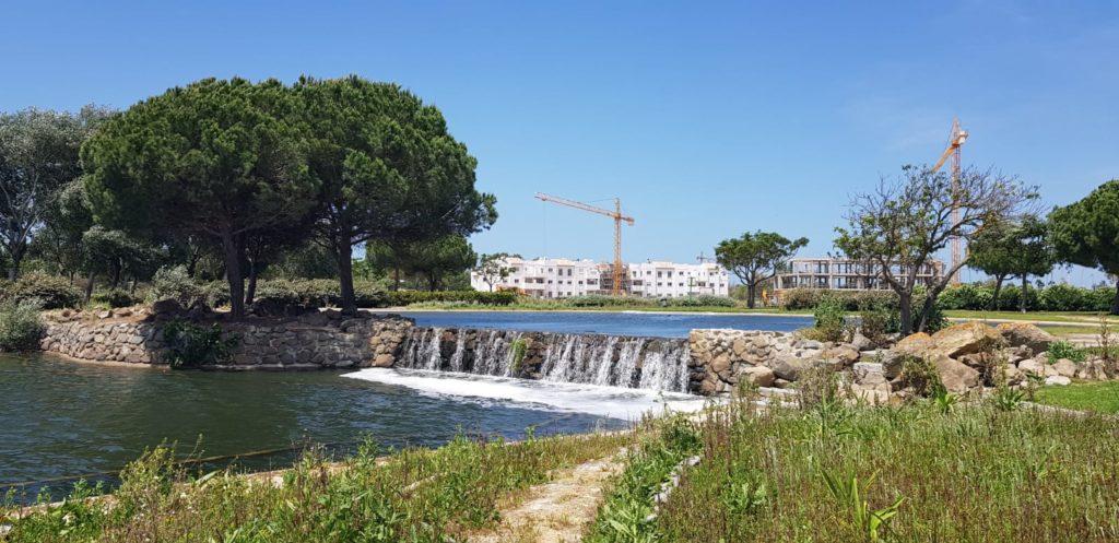 Las construcciones de Jardines del Lago están a punto de terminar.